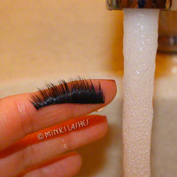 Washing Mink Lashes for Reuse