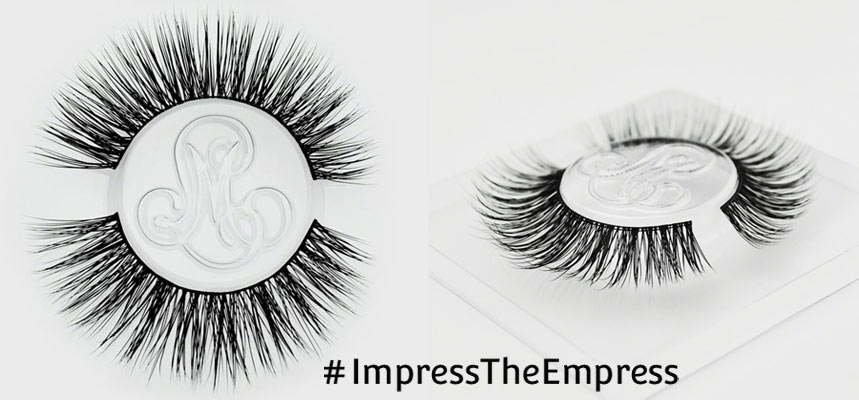 #ImpressTheEmpress Cruelty-Free False Lashes